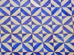 Azulejos portugueses de todas as épocas: Azulejos enxaquetados