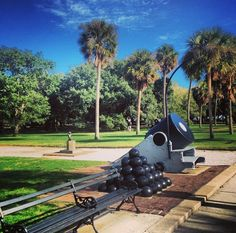 History on display at White Point Gardens in #Charleston
