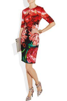 Peter Pilotto printastic #2|Oleg printed crepe dress