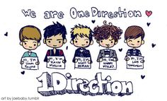 This is what happens when I get bored in my Typog class.. x) yes, the text is sloppy. i was half asleep. k? haha notice that Zayns the only one with eyelashesLOL! Ive been wanting to draw little chibi One Direction 3 please dont take. thnx~! -mia jae