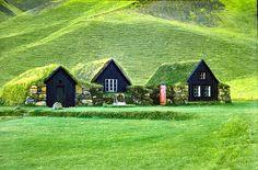 Norwegian Farmscape.