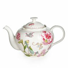 Sanderson Porcelain GardenTeapot - From Lakeland