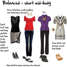 """""""Body Proportions - short mid-body"""" by imogenl on Polyvore"""