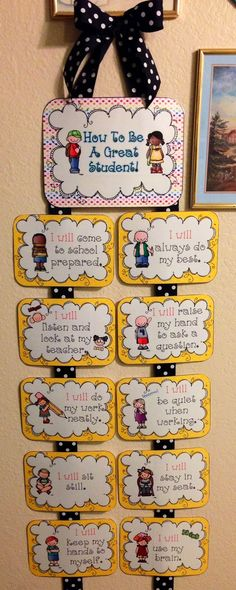 Fabulous Finch Facts: Monday Made It… Classroom Rules Poster, Classroom Charts, Classroom Board, Classroom Jobs, Classroom Behavior, Classroom Pictures, Classroom Quotes, Bulletin Boards, School Board Decoration