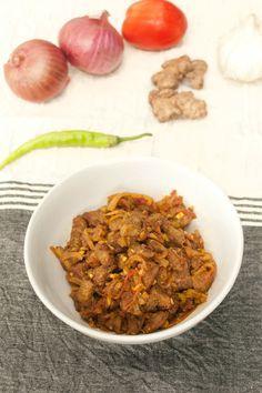Goan kalva fry recipe goan food bongong pinterest food goan beef chilli fry forumfinder Gallery
