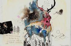 Babi Tubelo tem um trabalho autoral fantástico. Suas ilustrações são delicadas, parecem vindas de um mundo imaginário, poético, além de serem bem coloridas.