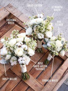 Floral Bouquet Recipes by Colour