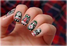 Christmas nails - 65 Cute Christmas Nails