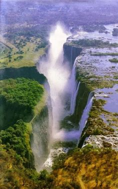 Victoria Falls. Victoria Falls is a town in the western portion of Zimbabwe, across the border from Livingstone, Zambia, and near Botswana. The town lies immediately next to the falls. They are the major attraction, but this popular tourist destination offers both adventure seekers and sightseers plenty of opportunities for a longer stay.