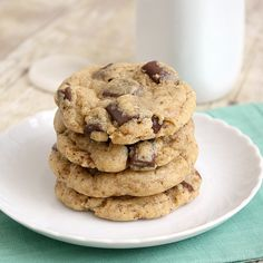 Espresso Chocolate Chip Cookies By Tracey's Culinary Adventures -- see more at LuxeFinds.com