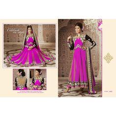 Designer Kalidar Anarkali Salwar Suit