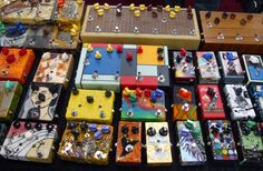 Hand painted pedal covers...: