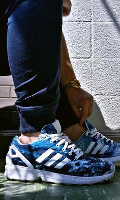 "#Adidas #ZX #Flux ""Ocean"""