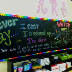 I can't I messed up I'm done.... bulletin board