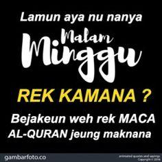 Status Lucu Malam Minggu Bahasa Sunda