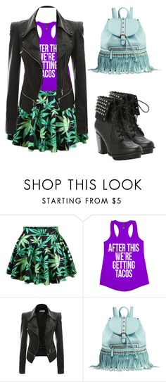 """""""Fashion is my Drug"""" by margoooooo ❤ liked on Polyvore featuring Chicnova Fashion and MKF Collection"""