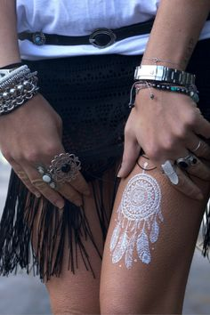 """""""Take a leap of faith and commit fully to what you want... go for it!"""" Pure Tatts' dreamcatcher tattoo!"""