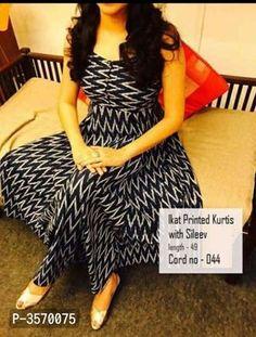 Bollywood Style Designer Anarkali Kurtis from Stf Store Simple Kurti Designs, Kurta Designs Women, Kurti Neck Designs, Dress Neck Designs, Salwar Designs, Kurti Designs Party Wear, Blouse Designs, Kalamkari Dresses, Ikkat Dresses
