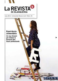 Coberta La revista de Blanquerna, 25, 2011 #design #university #Blanquerna