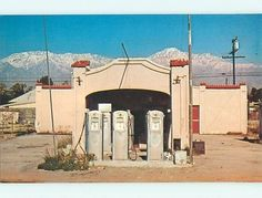 Route possibly Rancho Cucamonga, CA Old Gas Pumps, Long Gone, Historic Route 66, Old Gas Stations, California History, Rancho Cucamonga, Life Inspiration, Places Ive Been, Places To Visit