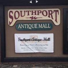 Southport Antique Mall. Southport Indianapolis, Indiana.