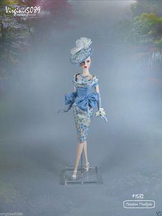tenue outfit + accessoires pour fashion royalty barbie silkstone vintage #1582 | eBay