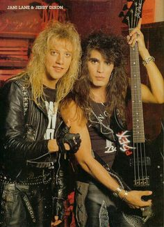 Jani Lane & Jerry Dixon