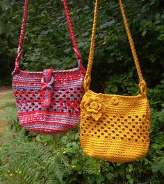 Fashion Chic Tote Bags - PA-205 - A crochet pattern from Nancy Brown-Designer. This pattern includes instructions for a couple of wonderful tote bags. An embellishment or an interesting closure create these unique bags that are fun to make and fashionable to wear. This pattern PDF can be purchased at my Etsy Pattern Store for $3.49, just click on the photo.