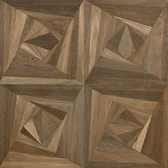 Inlay panel in smoked Oak, brushed, stained, varnished. Wood Floor Design, Wall Design, Wooden Flooring, Hardwood Floors, Flooring Tiles, Dr Images, Floor Texture, American Walnut, Natural Shapes