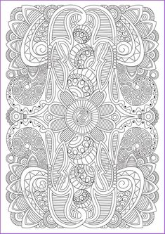 Coloring page adult and children , PDF zentangle pattern, printable art tangle inspired Abstract Illustration, Art Journal Pages, Art Therapy Projects, Zentangle Patterns, Zentangles, Tinta China, Paint Markers, Coloring Book Pages, Printable Art