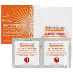Dr. Dennis Gross Skincare Alpha Beta® Glow Pads #travel #beautytogo #Sephora