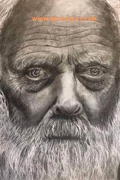 Portré rajzok-Tippek a bőr megrajzolásához Lee Jeffries