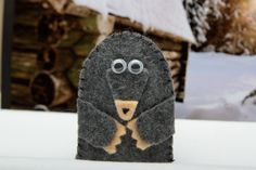 Finger Puppet mole by citycreations on Etsy