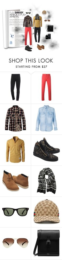 """""""move :)"""" by light-black ❤ liked on Polyvore featuring Kenzo, Jacob Cohёn, Visvim, Giuseppe Zanotti, TOMS, Banana Republic, Ray-Ban, Gucci, Mulberry and Ralph Lauren"""