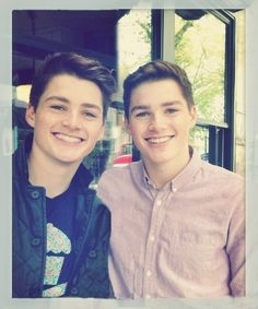 Jack and Finn Harris....wow. Just...wow
