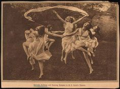 Gertrude Hoffmann and Dancing Nymphs at B.F.Keiths Theatre NYPL.