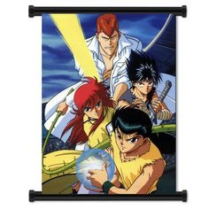 Yu Yu Hakusho Anime Fabric Wall Scroll Poster (32'x42') Inches > See this great image  : DIY : Do It Yourself Today