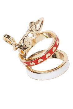 Cute stackable rings