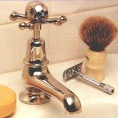 skull, bones faucet | Modern Design Blog: Skull and Crossbone Modern Decor