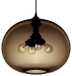Terra Modern Pendant, Chocolate modern pendant lighting