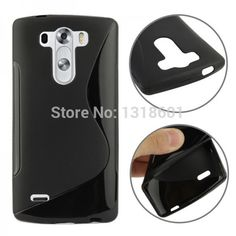 For LG G3 Mini S-Line TPU Soft Silicone Mobile Phone Case Cover