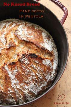 Cottura in Pentola&No Knead Bread |