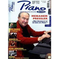 Menahem Pressler im Magazin PIANO NEWS 1/2014 - die Zeitschrift für Tasten - Musiker - jetzt dieses Heft bestellen - versandkostenfrei bequem und sicher! - Kein Abo!