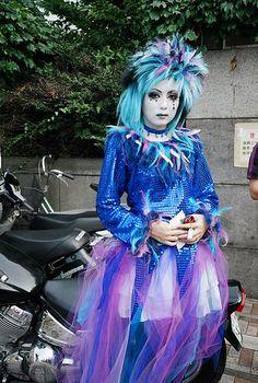 Harajuku Grrl dressed as Mana of Malice Mizer by MonikaThomas