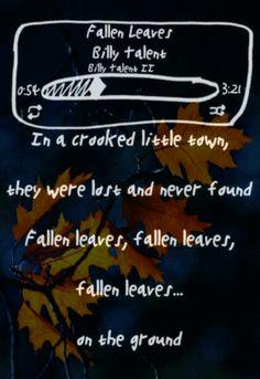 Fallen Leaves - Billy Talent lyrics