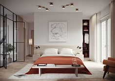 Tranquil Park Living with Interior Design by Louise Liljencrantz