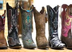Imagine having a collection of these boots in your closet!