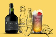 Easy-to-prepare cocktail recipes made using ReedValley's Vinho Cabo Rubi (Cape Ruby Port). Cocktail Recipes, Cocktails, Wines, Punch, Champagne, Bottle, Craft Cocktails, Flask, Cocktail