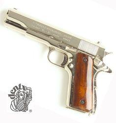 M1911 GOVT SEMI AUTO NICKEL FINISH NON FIRING REPLICA GUN by Denix. $129.99. http://notloseyourself.com/show/dpgmz/Bg0m0z2aLz7zSnCvXaCi.html