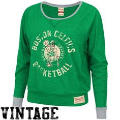 Mitchell & Ness Boston Celtics Ladies Spectacular Long-Sleeve T-Shirt – Kelly Green